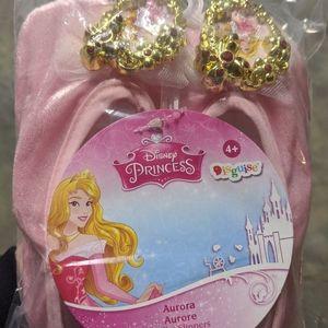 Disney Aurora play ballet slippers